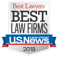 US News & World Report - Best Law Firm 2019